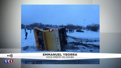 Accident mortel d'un car scolaire : la piste d'une sortie de route privilégiée