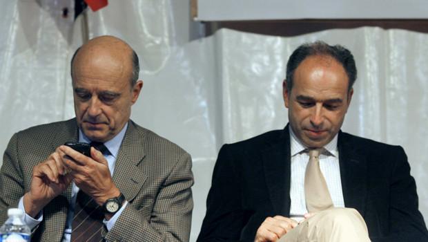 Alain Juppé et Jean-François Copé UMP