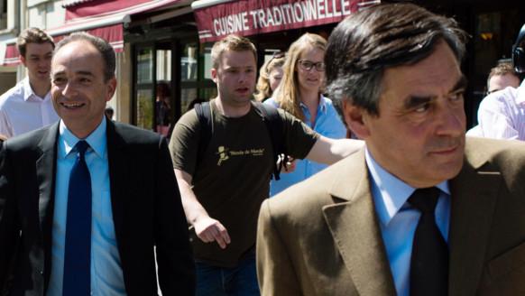 François Fillon et Jean-François Copé, le 24 avril 2013