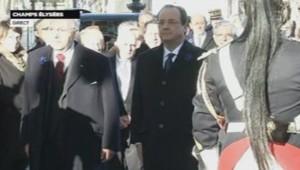 François Hollande lundi 11 novembre 2013