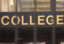 La grille d'entrée d'un collège (archives).