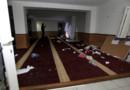 La salle de prière saccagée le 25 décembre 2015 à Ajaccio