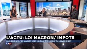 Loi Macron : l'Assemblée nationale examinera la motion de censure cette après-midi