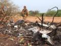 Premières images de la zone du crash du AH5017, au Mali.