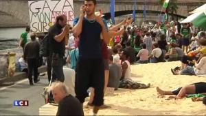 A Paris, Tel-Aviv sur Seine et Gaza Plage cohabitent dans le calme