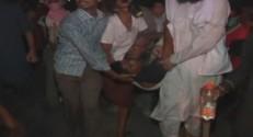 Evacuation de blessés au Pakistan