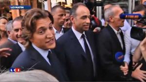 Jean Sarkozy aux côtés de Jean-François Copé en septembre 2012.