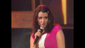 Jenifer aux NRJ Music Awards en 2002.