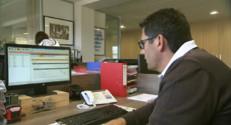 Le 13 heures du 30 octobre 2014 : Simplification de la fiche de paie : c%u2019est d� le cas dans certaines entreprises de Gironde - 434.0758558349609
