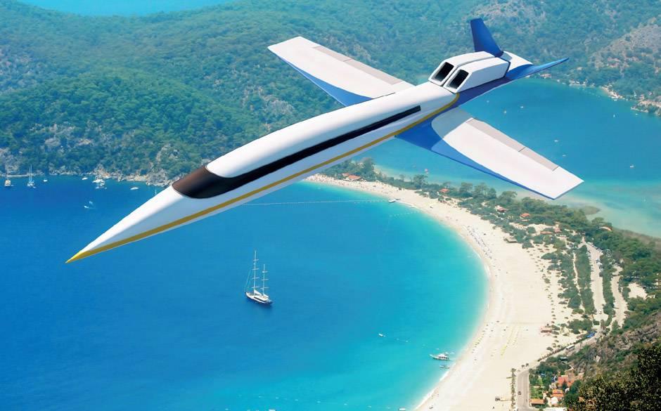L'avion du futur sans hublot... Le-jet-supersonique-sans-hublot-de-spike-s-512-de-spike-aerospace-11100653vfham