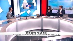 """""""Les JO c'est mon rêve"""", confie le seul lutteur tricolore qualifié pour les jeux de Rio"""