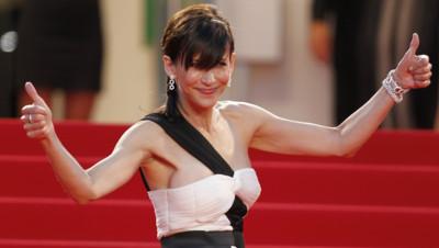 Sophie Marceau à Cannes en mai 2015