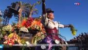 Bataille de fleurs et sécurité renforcée pour l'ouverture du carnaval de Nice
