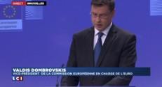 """Dombrovskis : """"Le gouvernement grec doit mettre en oeuvre les réformes"""""""