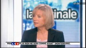 "Guigou : ""Martine Aubry est au centre de la gauche"""