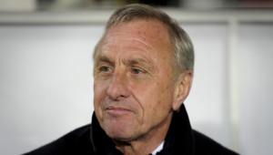 Johan Cruyff, le 30 décembre 2011 à Barcelone.