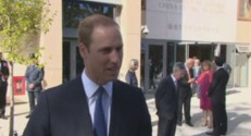 Le prince William à Oxford