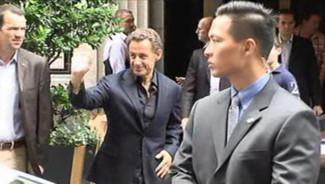 Nicolas Sarkozy à New York (19/09/2010)