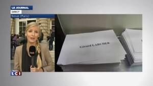 Sénat : assuré de devenir président, Gérard Larcher remporte la primaire UMP