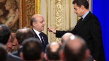 Alain Juppé et Nicolas Sarkozy à l'Elysée, le 20 janvier 2012.