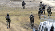 Des soldats des forces spéciales à l'entraînement à Martignas-sur-Jalle, près de Bordeaux.