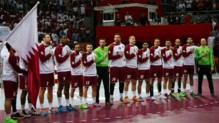 L'équipe de handball du Qatar