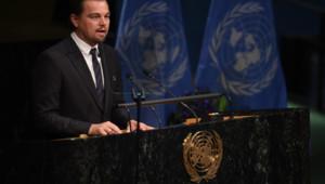 Leonardo DiCaprio ONU Nations Unies COP21 climat