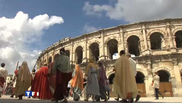 Les arênes de Nîmes