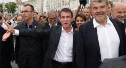 Manuel Valls arrive aux Universités d'été de La Rochelle