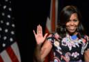 Michelle Obama à Londres en juin 2015 pour la visite d'une école
