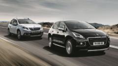 Peugeot 2008 et 3008 Crossway, séries spéciales lancées en juillet 2014