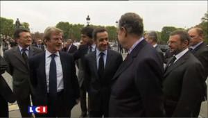 Premières images de Mitterrand au lendemain de son interview