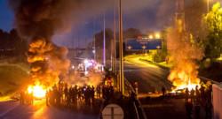 Autoroute A1 bloquée par des gens du voyage (Somme)
