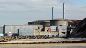 Centrale nucléaire de Penly en Seine Maritime, le 5 avril 2012