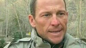 Lance Armstrong dans une vidéo où il dit s'attendre à être ne pouvoir participer au Tour de France (10 avril 2009)