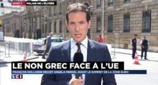 Le non grec face à l'UE : le couple franco-allemand veut parler d'une seule voix avant le sommet