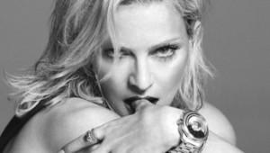 Madonna, égérie Versace