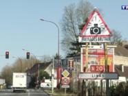 Radars : le maire de Linas invente un panneau pour réduire les accidents