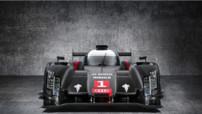 Avant de l'Audi R18 e-tron quattro engagée en championnat d'endurance WEC et aux 24h Mans 2014