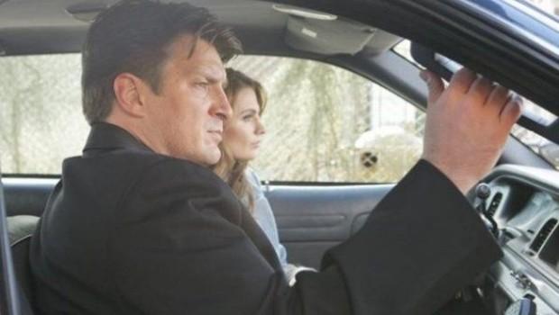 Castle - Saison 4. Série créée par Andrew Marlowe en 2009. Avec Nathan Fillion, Stana Katic, Ruben Santiago-Hudson et Molly C. Quinn