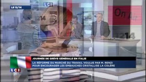 """Grève en Italie : """"la situation est à peu près la même qu'en France"""""""