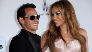 Jennifer Lopez et Marc Anthony au gala de l'amfAR contre le sida (20 mai 2010)