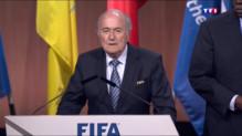 Le 20 heures du 29 mai 2015 : Elections sous tension à la Fifa - 135