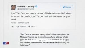 Primaires US : quand les femmes de Trump et Cruz s'invitent dans la guerre républicaine