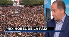 """Prix Nobel de la paix : pour la Tunisie, """"il arrive au bon moment"""""""