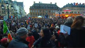 Avant Paris, les partisans du mariage gay manifestent en province