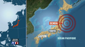 carte japon séisme