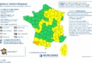 Carte Météo France du lundi 11 novembre 2013