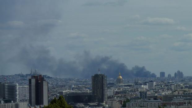 incendie entrepôt Aubervilliers