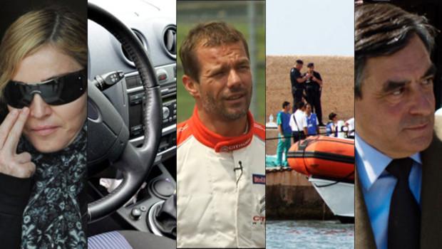 Madonna, limitation de vitesse, Sébastien Loeb, naufrage de Lampedusa, François Fillon : voici l'actualité qui a dominé ce week-end du 5/6 octobre 2013